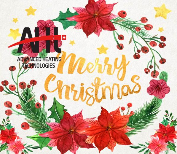 Поздравление с рождеством от АХТ юкрейн